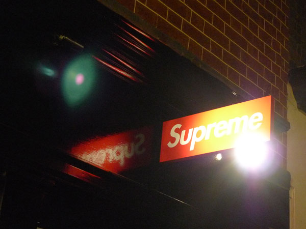 Supreme London, Opening Reception
